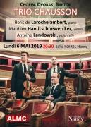 Concert Trio Chausson à Nancy Salle Poirel