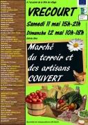 Marché du terroir et des artisans de Vrécourt  88140 Vrécourt du 11-05-2019 à 15:00 au 12-05-2019 à 18:00