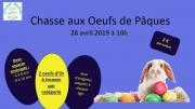 Chasse aux Oeufs de Pâques à Damas-et-Bettegney 88270 Damas-et-Bettegney du 28-04-2019 à 10:00 au 28-04-2019 à 12:00