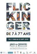 Exposition Flickinger Abbaye Prémontrés 'de 7 à 77 ans' 54700 Pont-à-Mousson du 11-05-2019 à 10:00 au 22-09-2019 à 18:00