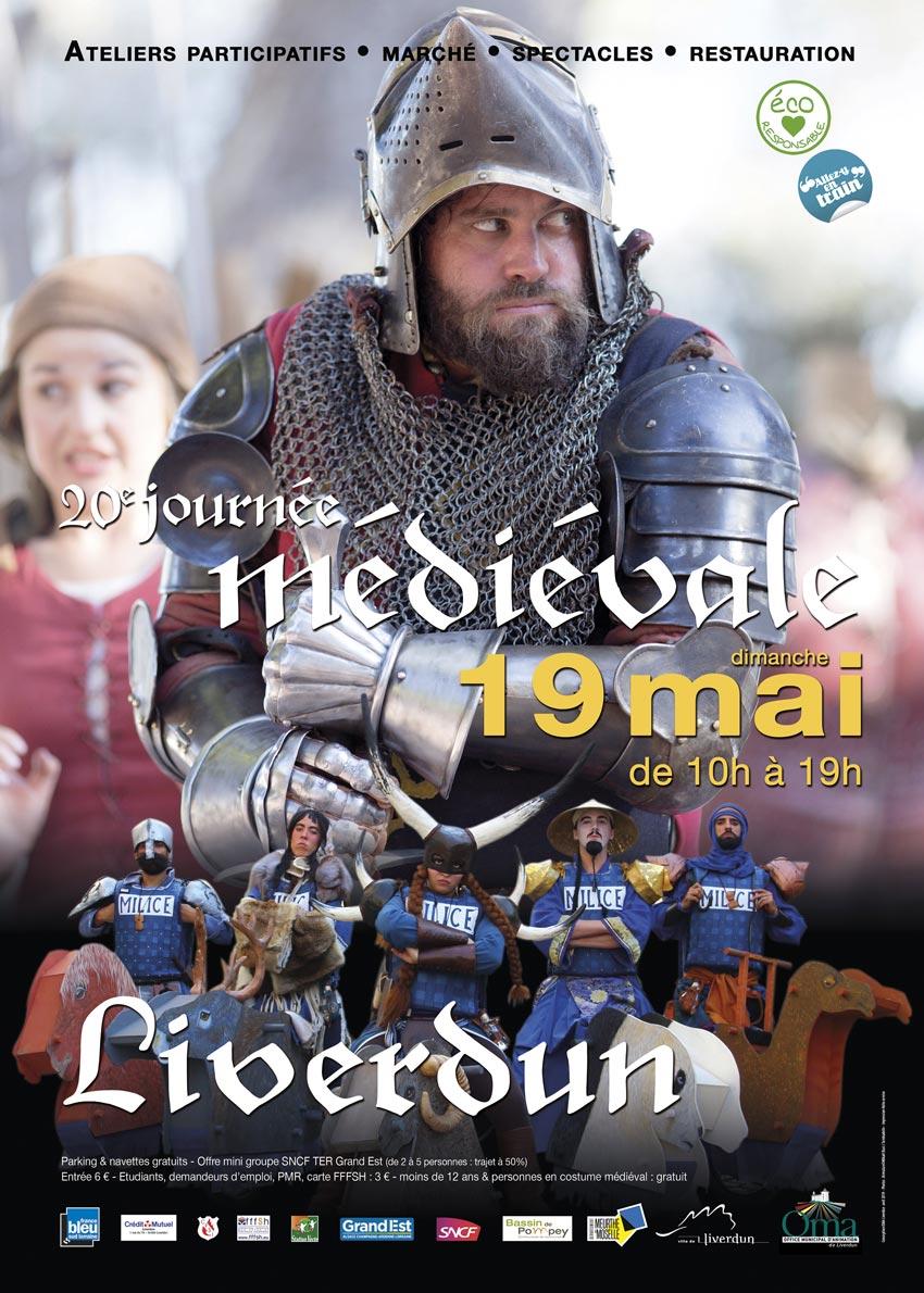 Fête Médiévale Liverdun 54460 Liverdun du 19-05-2019 à 10:00 au 19-05-2019 à 19:00