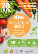 Repas des Producteurs à Contrexéville 88140 Contrexéville du 28-06-2019 à 11:00 au 28-06-2019 à 21:00