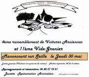 Rassemblement de Voitures Anciennes et Brocante à Belleau 54610 Belleau du 30-05-2019 à 06:00 au 30-05-2019 à 18:00