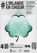 Concert L'Irlande en Choeur à Toul 54200 Toul du 04-05-2019 à 20:30 au 04-05-2019 à 22:00