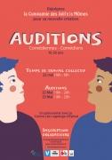Auditions de Comédiens et Comédiennes à Epinal 88000 Epinal du 22-05-2019 à 16:00 au 23-05-2019 à 20:00
