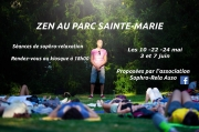 Séance Zen au Parc Sainte-Marie à Nancy 54000 Nancy du 22-05-2019 à 18:00 au 22-05-2019 à 19:00
