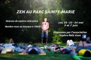 Séance Zen au Parc Sainte-Marie à Nancy 54000 Nancy du 24-05-2019 à 18:00 au 24-05-2019 à 19:00