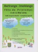 Fête du Printemps à Bertrange-Imeldange 57310 Bertrange du 11-05-2019 à 16:00 au 12-05-2019 à 20:00