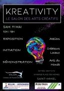 Salon Kreativity Arts Créatifs à Saint-Mihiel 55300 Saint-Mihiel du 11-05-2019 à 10:00 au 11-05-2019 à 18:00