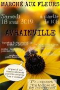 Marché aux fleurs à Avrainville 88130 Avrainville du 18-05-2019 à 10:00 au 18-05-2019 à 22:00