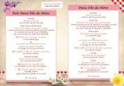 Menu Fête des Mères Auberge Liezey près de Gérardmer 88400 Liézey du 26-05-2019 à 12:00 au 26-05-2019 à 19:00