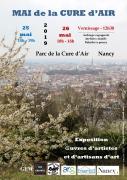 Mai de la Cure d'Air à Nancy 54000 Nancy du 25-05-2019 à 14:00 au 26-05-2019 à 18:00