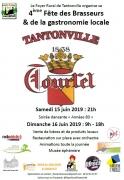 4ème Fête des Brasseurs à Tantonville 54116 Tantonville du 15-06-2019 à 21:00 au 16-06-2019 à 18:00