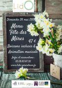 Fête des Mères Restaurant Gérardmer Lido 88400 Gérardmer du 26-05-2019 à 10:00 au 26-05-2019 à 15:00