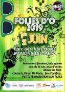 Les Folies d'O à Moulins-lès-Metz 57160 Moulins-lès-Metz du 01-06-2019 à 18:00 au 02-06-2019 à 18:00