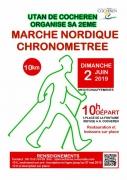 Marche nordique chronométrée à Cocheren 57800 Cocheren du 02-06-2019 à 08:00 au 02-06-2019 à 12:00
