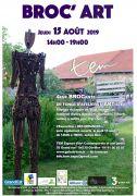 Broc'Art Ateliers Artistes à Goviller  54330 Goviller du 15-08-2019 à 14:00 au 15-08-2019 à 19:00