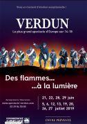 Spectacle Des Flammes à la Lumière Verdun 55100 Verdun du 21-06-2019 à 21:00 au 27-07-2019 à 23:59
