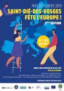 Saint-Dié-des-Vosges Fête l'Europe 88100 Saint-Dié-des-Vosges du 05-05-2019 à 10:00 au 31-05-2019 à 19:00