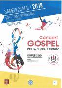 Concert Gospel au Temple d'Algrange  57440 Algrange du 25-05-2019 à 20:00 au 25-05-2019 à 23:35