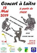 Concert 5 groupes à Laître-sous-Amance 54770 Laître-sous-Amance du 18-05-2019 à 17:30 au 18-05-2019 à 23:00