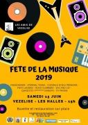 Fête de la Musique à Vézelise  54330 Vézelise du 15-06-2019 à 15:00 au 15-06-2019 à 23:30