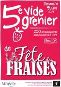 Vide-Grenier de la Fête des Fraises de Maxéville 54320 Maxéville du 09-06-2019 à 06:00 au 09-06-2019 à 18:00