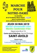 Marche pour Notre-Dame à Saint-Avold 57500 Saint-Avold du 30-05-2019 à 08:00 au 30-05-2019 à 11:00