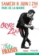 Concert Rock Greg ZLAP à Maxéville  54320 Maxéville du 08-06-2019 à 21:00 au 08-06-2019 à 22:00