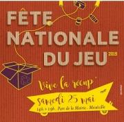 Fête nationale du jeu à Maxéville 54320 Maxéville du 25-05-2019 à 14:00 au 25-05-2019 à 18:00