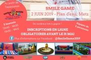 Tournoi sportif Smile Game à Metz 57000 Metz du 02-06-2019 à 12:45 au 02-06-2019 à 19:15