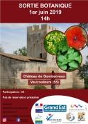 Sortie Botanique Château de Gombervaux Vaucouleurs 55140 Vaucouleurs du 01-06-2019 à 14:00 au 01-06-2019 à 17:00
