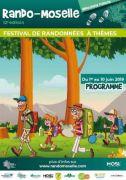 Rando-Moselle Festival Randonnées à Thèmes 57560 Saint-Quirin du 01-06-2019 à 09:00 au 10-06-2019 à 19:00