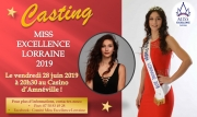 Casting Miss Excellence Lorraine 2019 à Amnéville 57360 Amnéville du 28-06-2019 à 20:30 au 28-06-2019 à 22:00