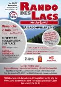Rando des Lacs à Badonviller 54540 Badonviller du 02-06-2019 à 07:00 au 02-06-2019 à 18:00