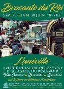 Brocante du Roi à Lunéville 54300 Lunéville du 29-06-2019 à 08:00 au 30-06-2019 à 21:00