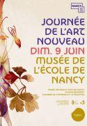 Journée de l'Art Nouveau à Nancy 54000 Nancy du 09-06-2019 à 10:00 au 09-06-2019 à 20:00