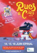 Festival Rues et Cies à Epinal 88000 Epinal du 14-06-2019 à 18:00 au 16-06-2019 à 22:00