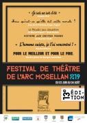 Festival de Théâtre de l'Arc Mosellan Bousse, Metzervisse, Bertrange et Buding 57 du 31-05-2019 à 20:00 au 04-08-2019 à 18:00