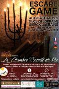 Escape Game La Chambre Secrète du Roi à Sierck-les-Bains 57480 Sierck-les-Bains du 30-06-2019 à 10:00 au 25-08-2019 à 17:00
