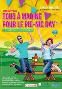 Tous à Madine pour le Pic-Nic Day au Lac de Madine 55210 Nonsard-Lamarche du 31-05-2019 à 10:00 au 02-06-2019 à 18:00
