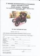 Bourse internationale d'échanges à Velaine-en-Haye 54840 Velaine-en-Haye du 15-06-2019 à 09:30 au 16-06-2019 à 18:00