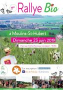 Rallye Bio à Moulins-Saint-Hubert 55700 Moulins-Saint-Hubert du 23-06-2019 à 08:30 au 23-06-2019 à 17:00