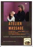 Atelier Apprendre à masser ses proches à Lunéville 54300 Lunéville du 29-06-2019 à 14:30 au 29-06-2019 à 16:30
