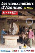 Vieux Métiers Azannes : Les Estivales 55150 Azannes-et-Soumazannes du 21-07-2019 à 10:00 au 28-07-2019 à 18:00
