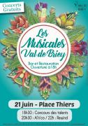 Les Musicales de Briey Concerts Gratuits 54150 Briey du 21-06-2019 à 18:30 au 21-06-2019 à 23:30