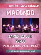 Concert de Salsa Cubaine à Metz 57000 Metz du 29-06-2019 à 20:30 au 29-06-2019 à 22:00