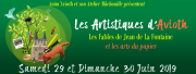 Les Artistiques d'Avioth Les Fables de La Fontaine  55600 Avioth du 29-06-2019 à 14:00 au 30-06-2019 à 18:00
