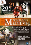 Metallurgic Park Animations Médiévales à Dommartin-le-Franc 52110 Dommartin-le-Franc du 20-07-2019 à 13:30 au 21-07-2019 à 18:30