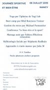 Journée Sportive et Bien-être à Essey-lès-Nancy 54270 Essey-lès-Nancy du 06-07-2019 à 09:00 au 06-07-2019 à 23:00